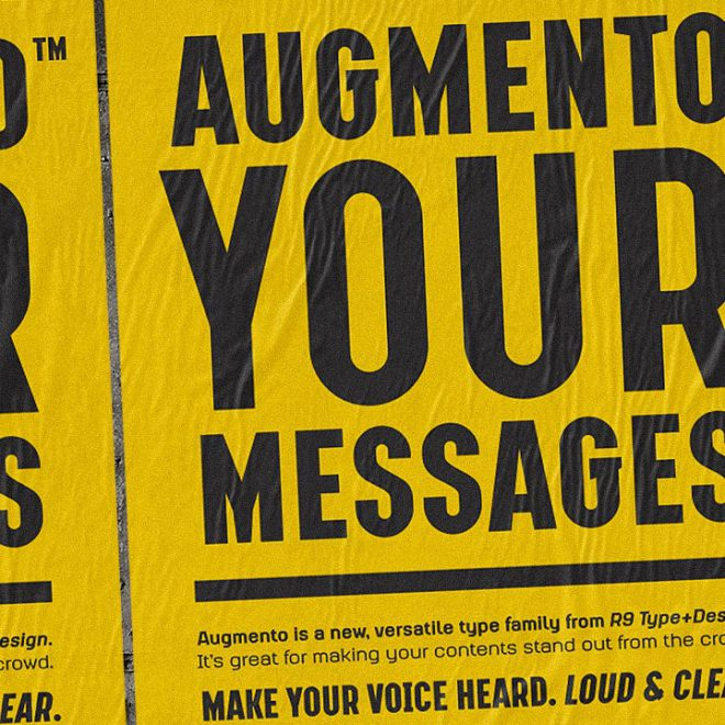Augmento Typeface Design1