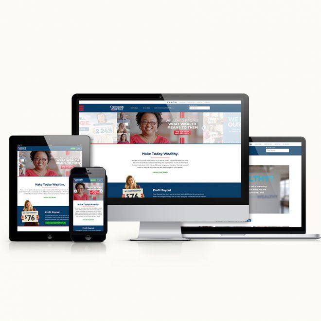CommunityAmerica-Website Design