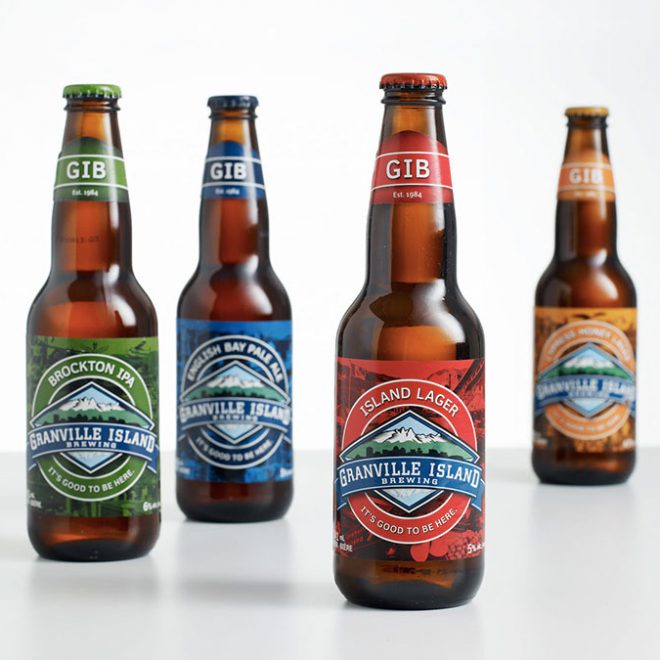 GIB Beer Bottle Design